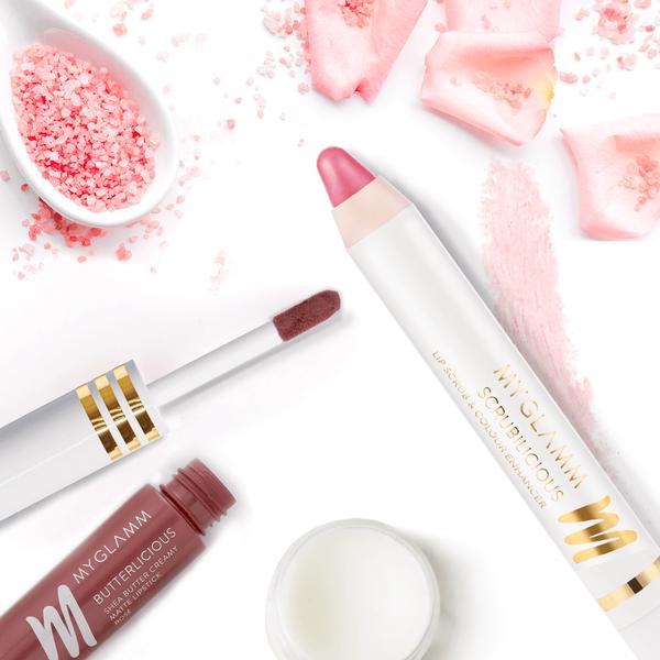 Lips on Fleek - Liquid Matte Lipstick with Lip Scrub