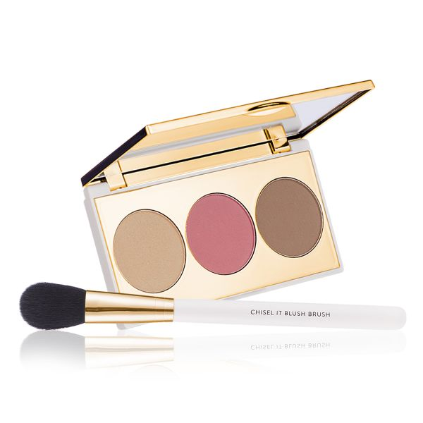 Makeup Kit - Blend & Brush Game Face - Chisel It with Blush Brush