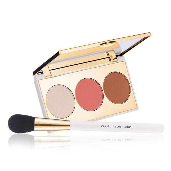 Makeup Kit - Blend & Brush Show Stopper - Chisel It with Blush Brush