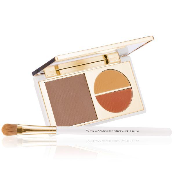 Makeup Kit - Total Makeover Concealer Kit  Dusky - FF Cream with Concealer Brush