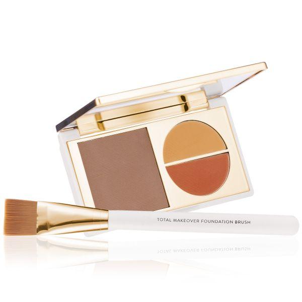 Makeup Kit - Total Makeover Foundation Kit Dusky - FF Cream with Foundation  Brush