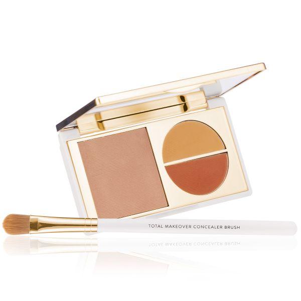Makeup Kit - Total Makeover Concealer Kit Light - FF Cream with Concealer Brush