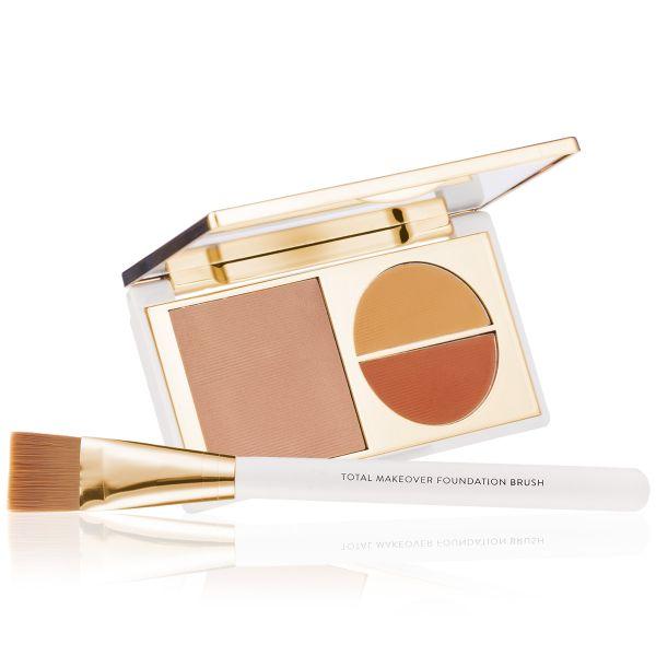 Makeup Kit - Total Makeover Foundation Kit Light - FF Cream with Foundation  Brush