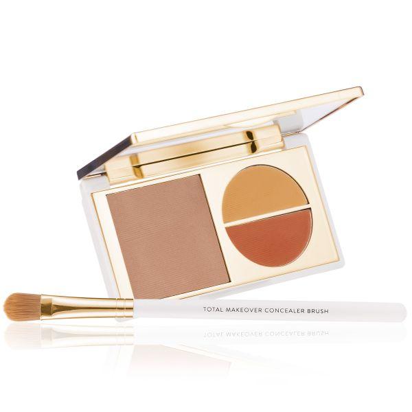 Makeup Kit - Total Makeover Concealer Kit Medium - FF Cream with Concealer Brush