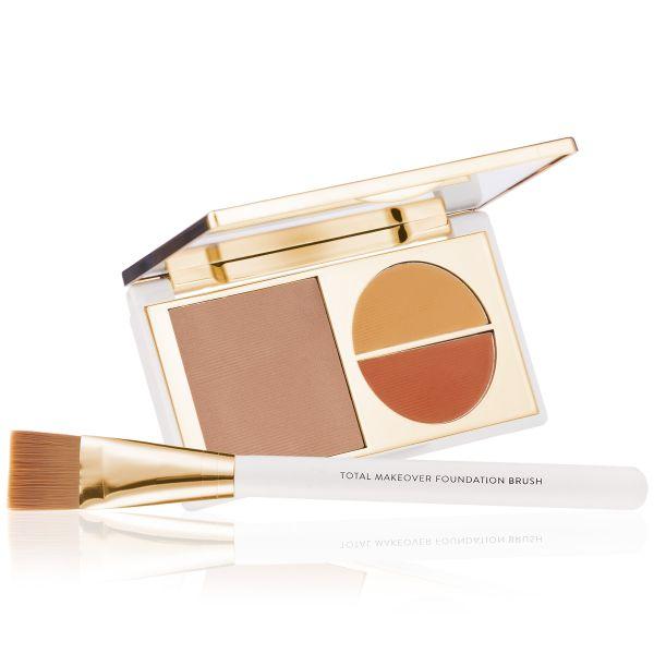 Makeup Kit - Total Makeover Foundation Kit Medium - FF Cream with Foundation  Brush