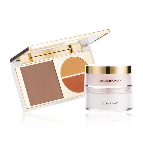 Makeup Kit - Flawless Finish Dusky - Total Makeover FF Cream with Glow to Glamour