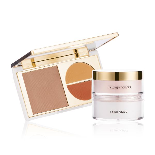 Makeup Kit - Flawless Finish Medium - Total Makeover FF Cream with Glow to Glamour