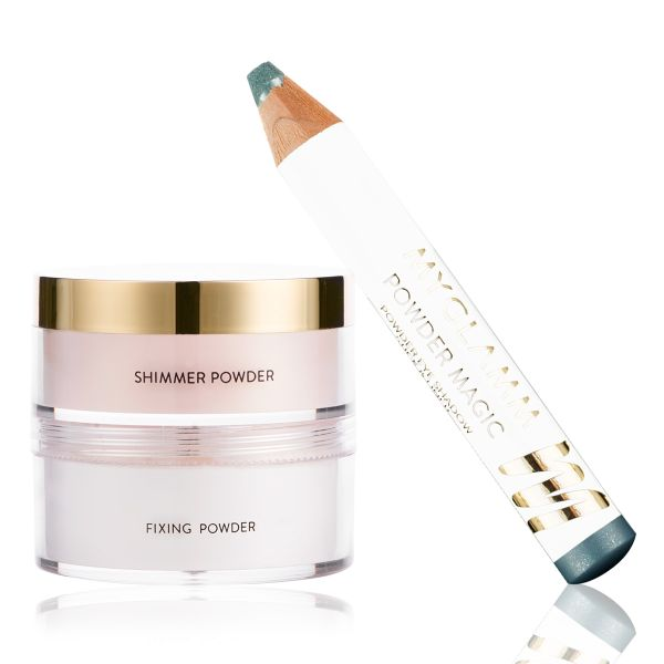 Makeup Kit - Brunch Edit Aquamarine - Powder Magic with Glow to Glamour