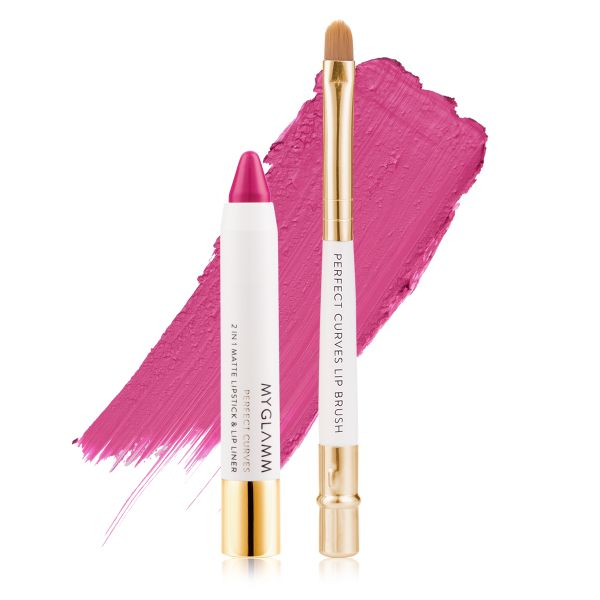 Makeup Kit - Perfect Lips Ampere - Matte Lipstick with Lip Brush