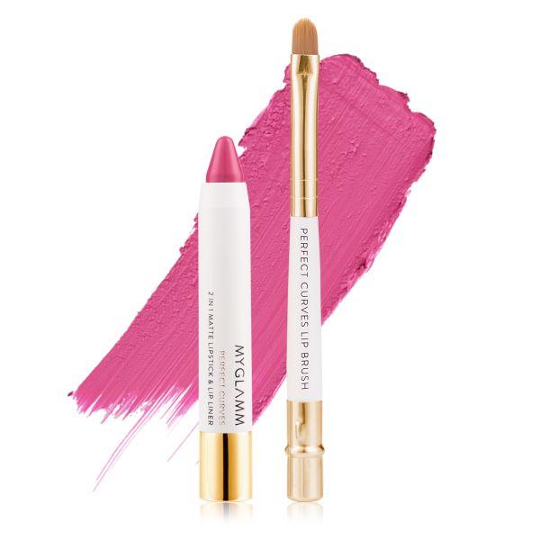 Makeup Kit - Perfect Lips Carnation - Matte Lipstick with Lip Brush