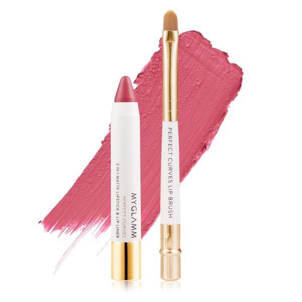 Makeup Kit - Perfect Lips Debutante - Matte Lipstick with Lip Brush