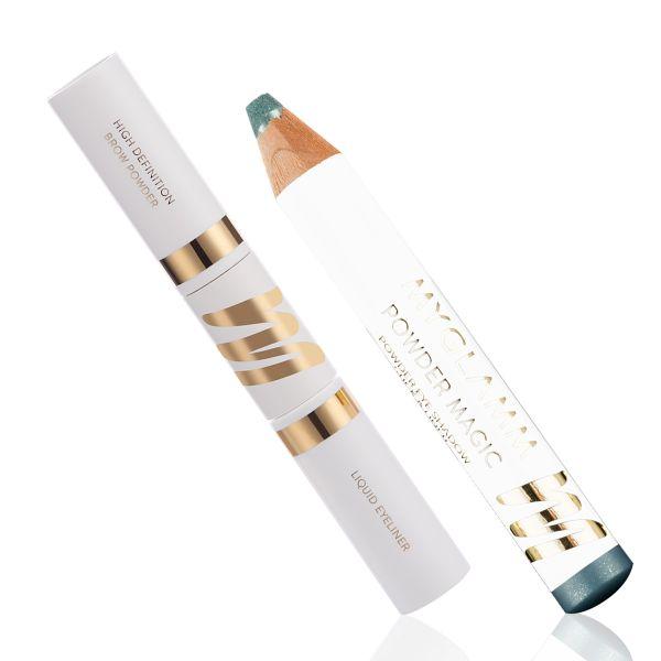 Makeup Kit - Sharp Eyes Aquamarine - Powder Magic with Stay Defined