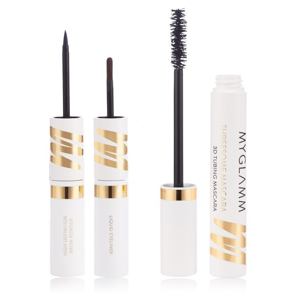 Makeup Kit - Two Much - Stay Defined with Threesome Mascara
