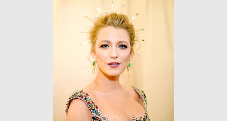 Blake Lively At Met Gala 2018