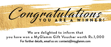 Winners of MyGlamm's Contest