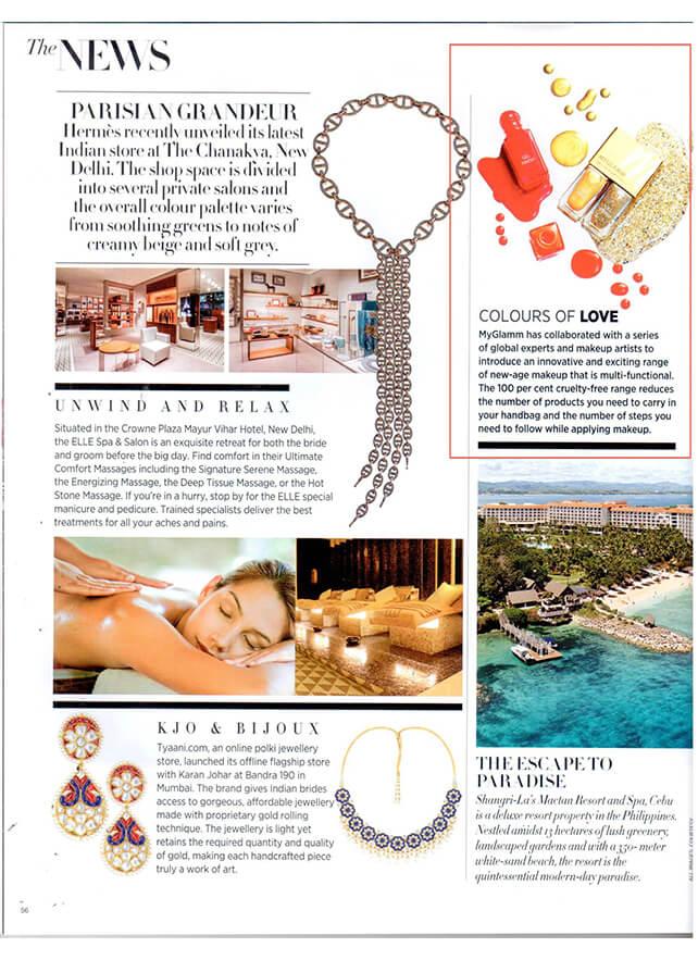Harper's Bazaar Bride MyGlamm Product Launch