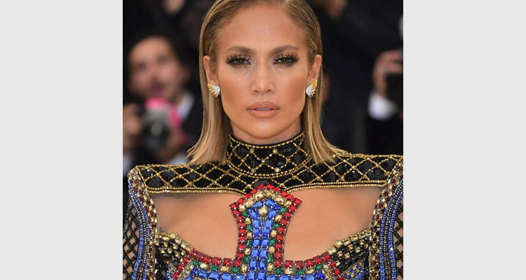 Jennifer Lopez At Met Gala 2018