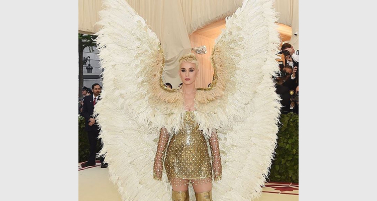 Katy Perry At Met Gala 2018