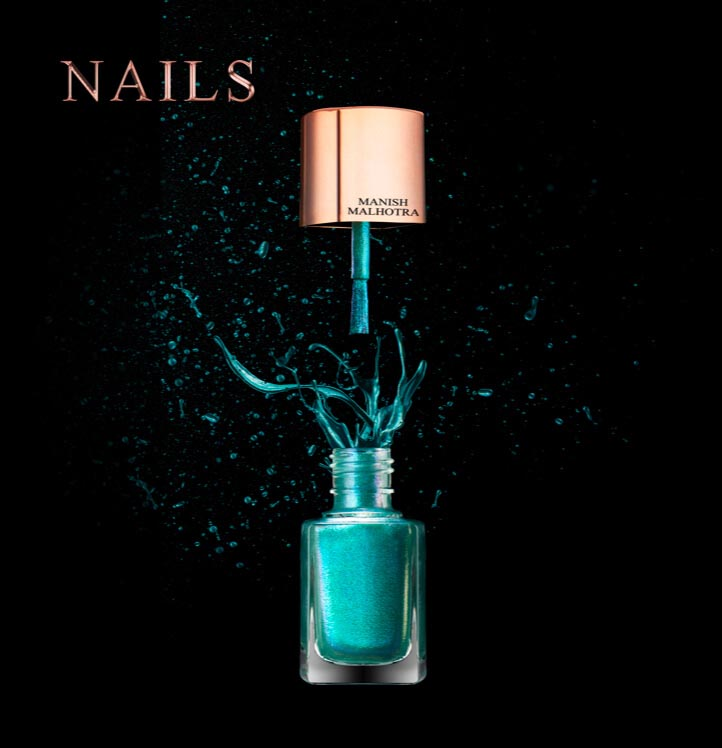 Manish Malhotra Nail polish Colour