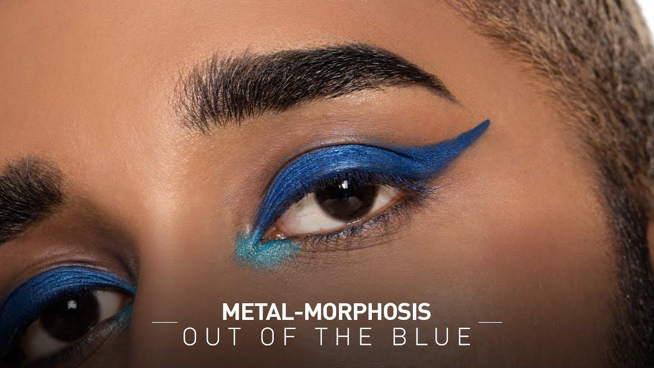 Metal Morphosis - Blue Eye Makeup Look