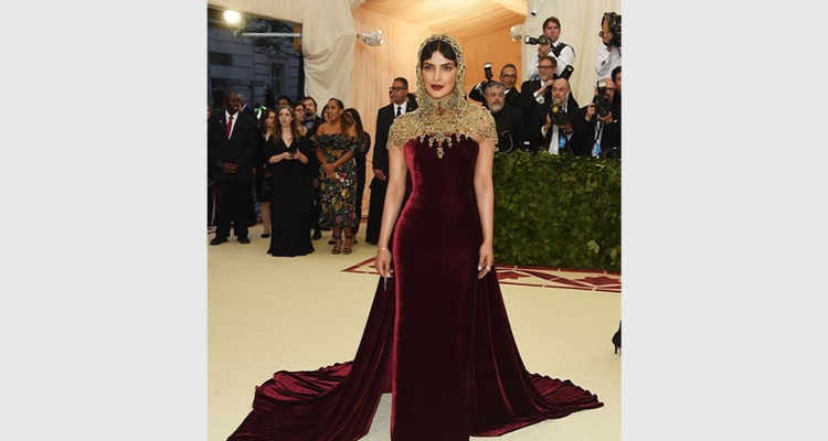 Priyanka Chopra At Met Gala 2018