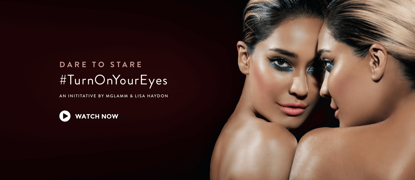 Dare to Stare #TurnOnYourEyes - MyGlamm
