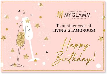 MyGlamm Birthday Gift Card