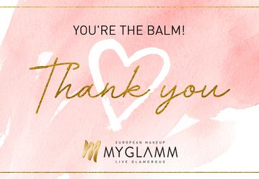 MyGlamm Thank You Gift Card