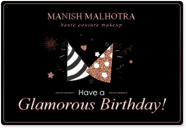 Manish Malhotra Birthday Gift Card