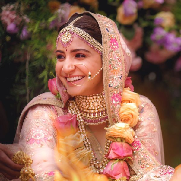 Anushka Sharma's Wedding Makeup Look