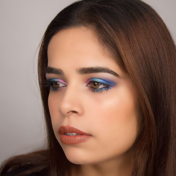 Bold Bright Eyes Makeup Look
