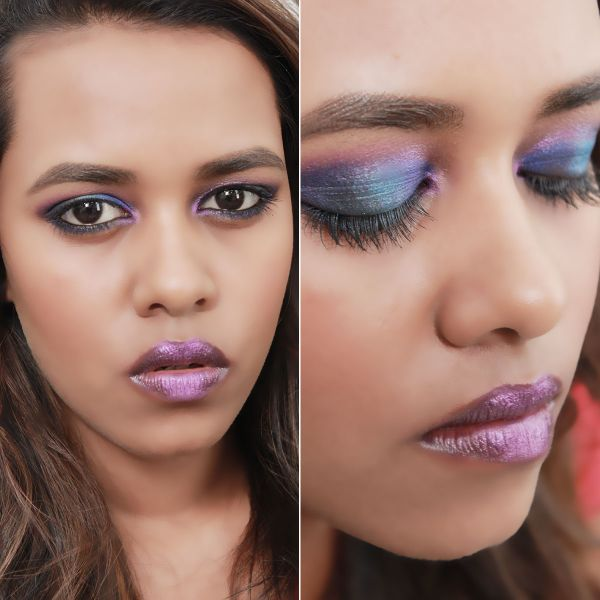 Jewel Toned Eye Makeup Look