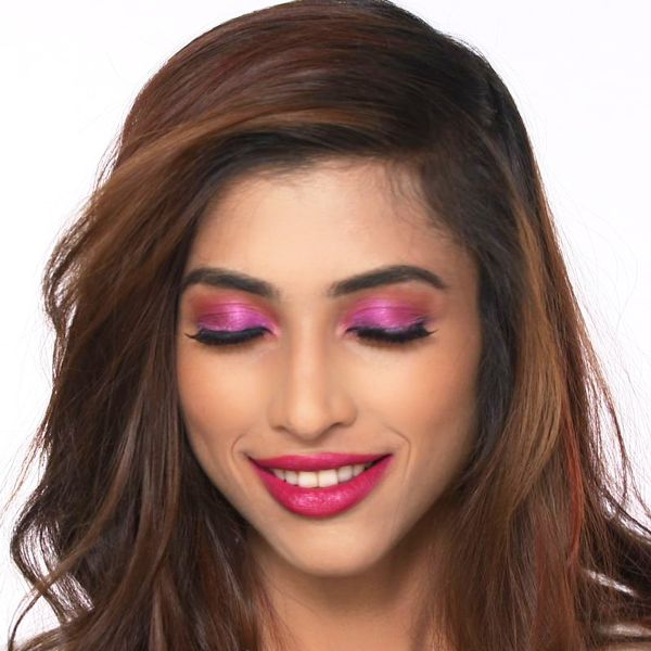Priyanka Chopra's Pink Eye Makeup Look