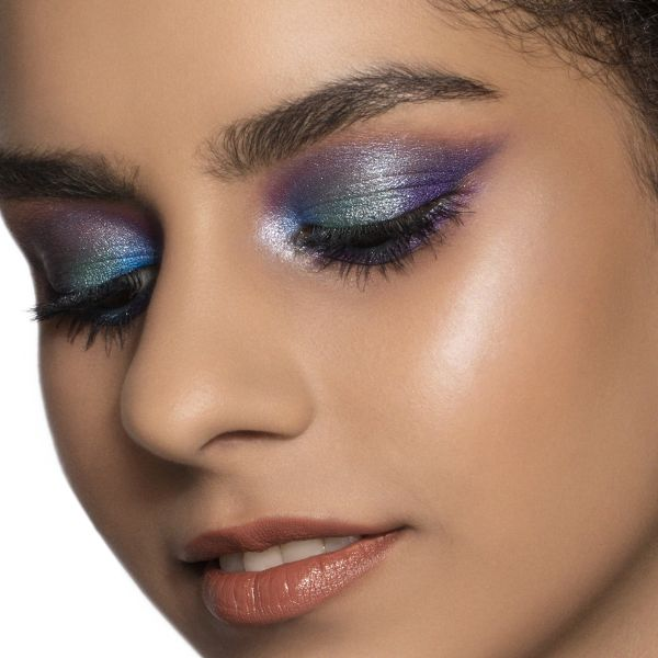 Space Age Eye Makeup Look