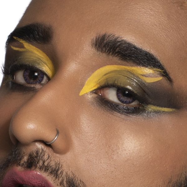 Superhero Makeup Look