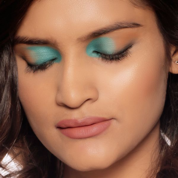 Teal Blue Eye Makeup,Teal Blue Makeup