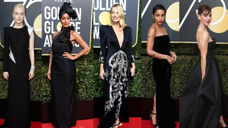Beauty Looks From Golden Globes 2018
