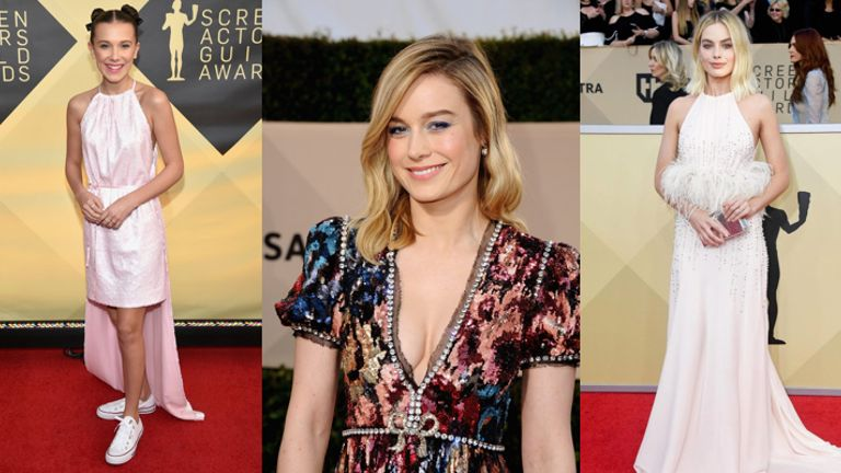 SAG Awards 2018: Best Celebrity Makeup Looks