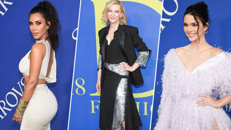 Celeb Looks From CFDA Awards 2018