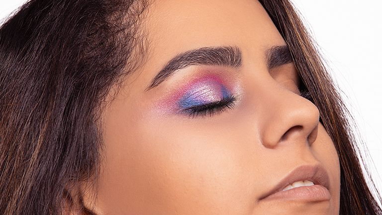 Pink - Purple Eyeshadow Makeup Look -How to Apply Eyeshadow