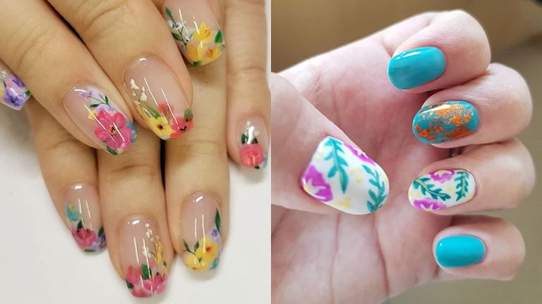 floral-nail-art-ideas-for-summer