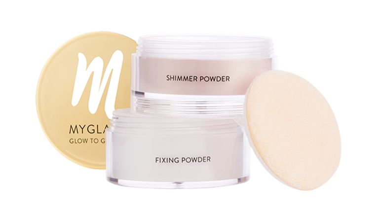 Shimmer and Fixing Powder