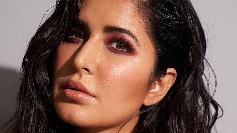 Katrina Kaif's Maroon Smokey Eye Makeup