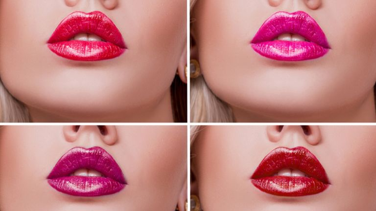 Time to bring out those pop lip shades