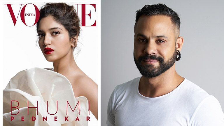 Bhumi Pednekar's Vogue Cover Makeup look