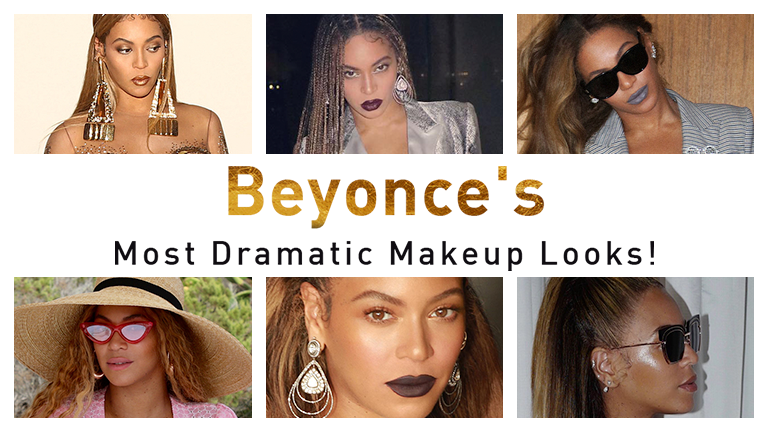Beyonce's Dramatic Makeup Looks