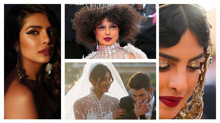 Priyanka Chopra Makeup Looks