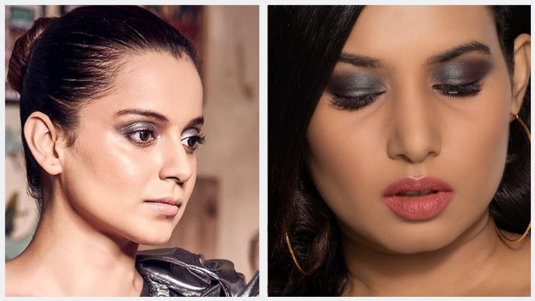 Kangana Ranaut's Metallic Makeup Looks