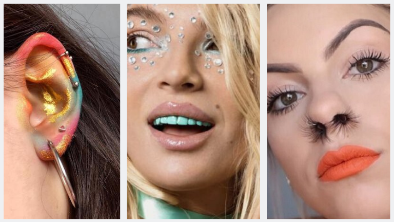 Weirdest Beauty & Makeup Trends