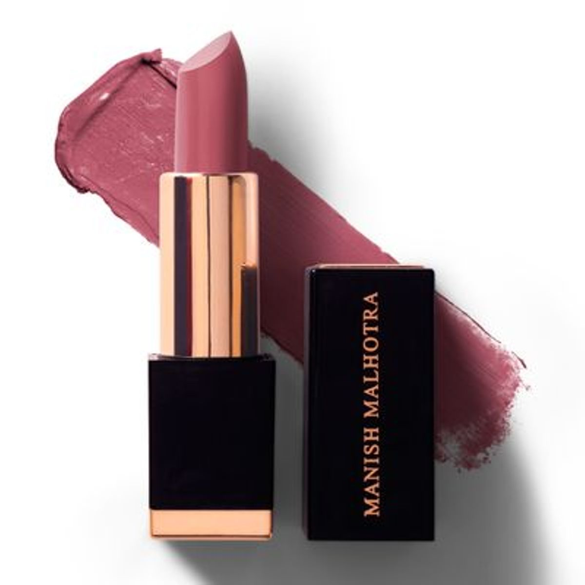 Manish Malhotra Hi Shine Purple Pink Lipstick